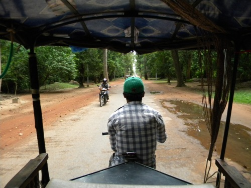 View from the TukTuk